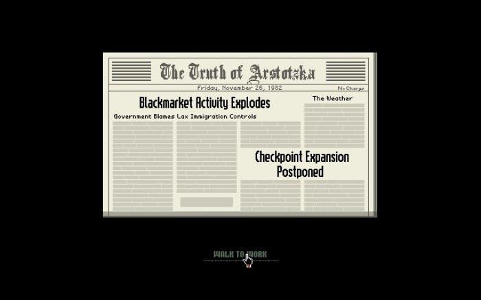 El periódico del juego que reflejará nuestras acciones