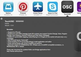 Actualización de TouchOSC para iPhone 5