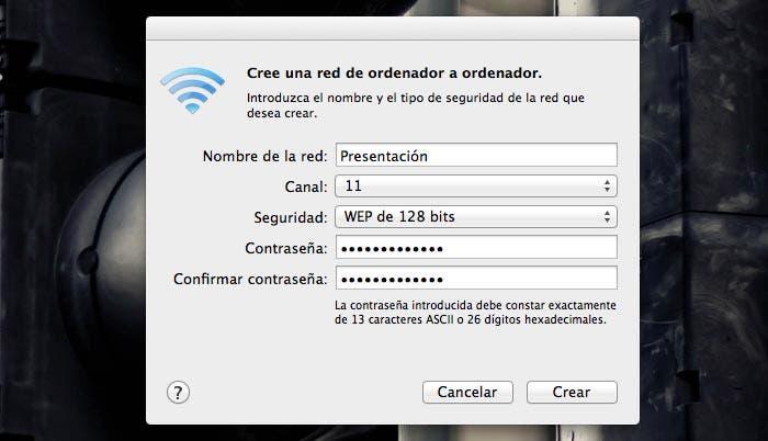 Configuración de la nueva red