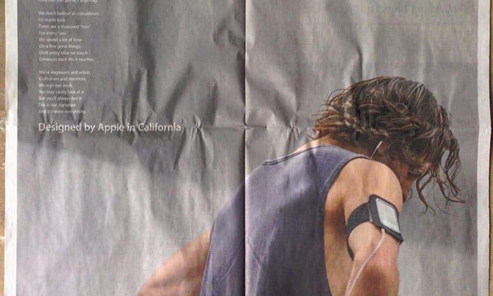 Nuevo anuncio de la campaña Designed by Apple in California