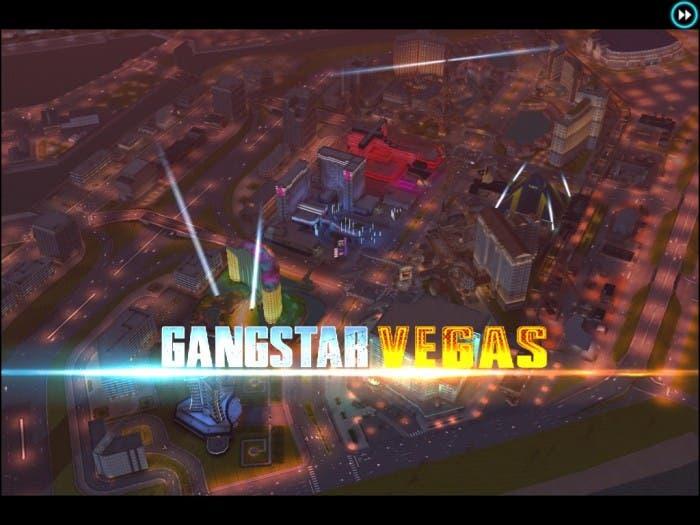 Inicio del juego de Gameloft