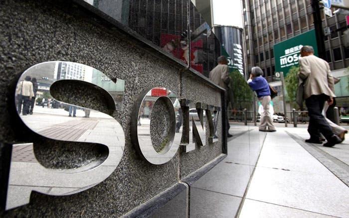 Photograph of Sony headquarters