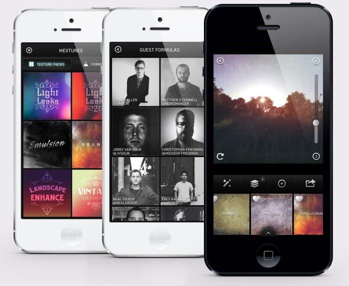 Varias Capturas de Mextures en iPhone 5