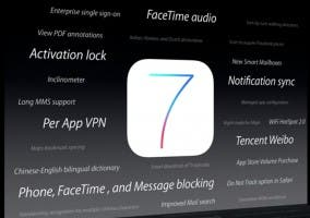Más novedades de iOS 7