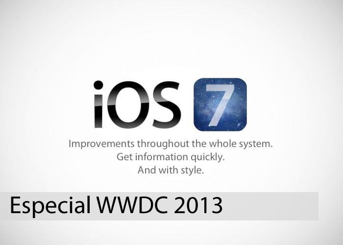 Cómo podría lucir iOS 7 en la presentación del WWDC 2013