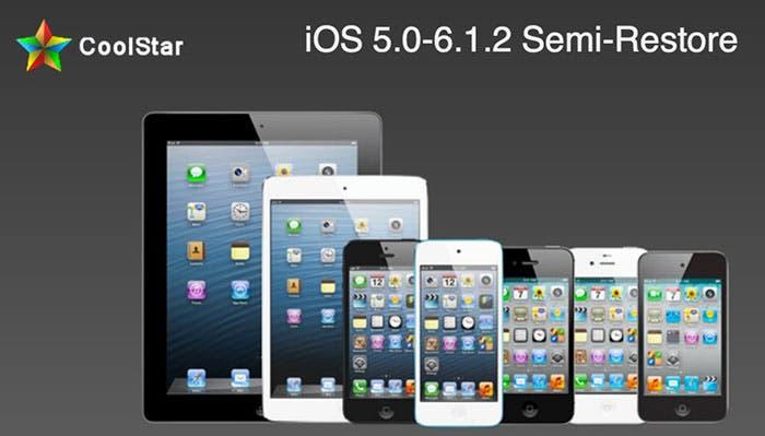 Semi-Restore para iOS 5 y iOS 6