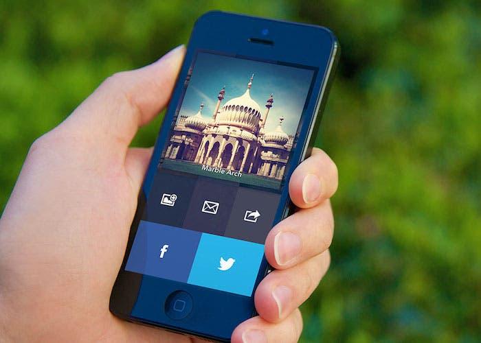 Aplicación de efectos filtros para iPhone de Realmac Software