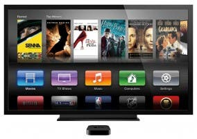 El Apple TV en el salón