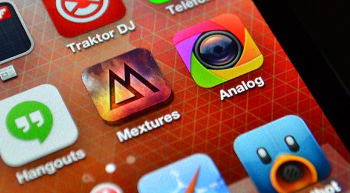 Mextures y Analog Camera para iPhone