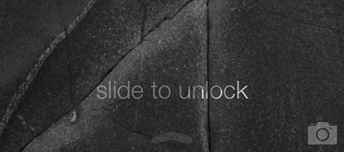 Podremos desbloquear el iPhone desde cualquier zona de la pantalla