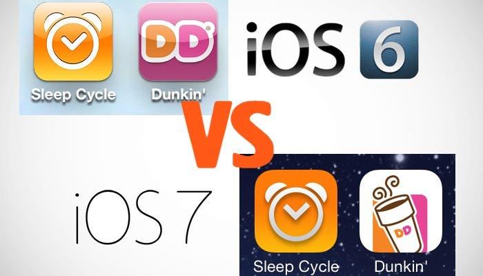 iOS 6 y iOS 7