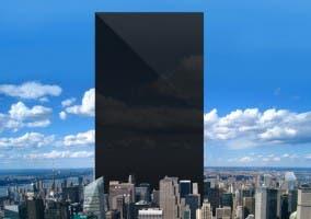 Un iPhone gigante con todos los iPhones vendidos