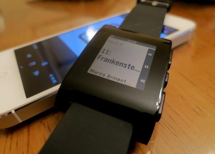 Uso de Pebble para recibir las notificaciones de nuestro iPhone