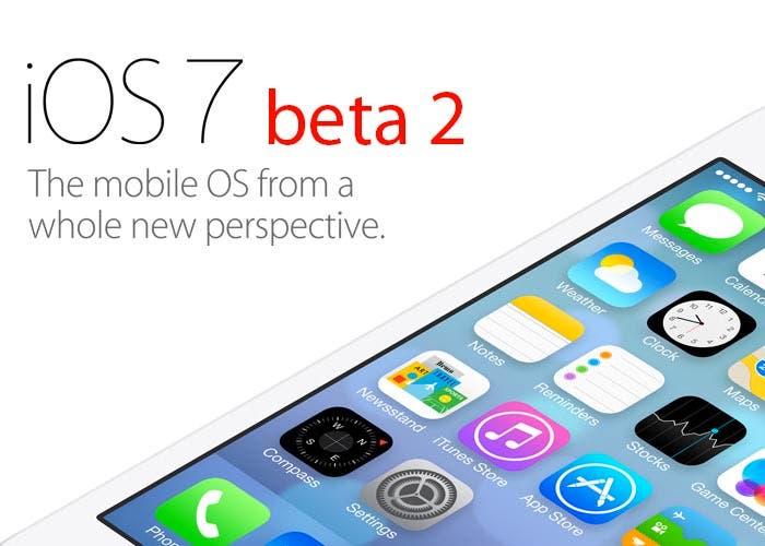 Aparece la segunda beta de iOS 7