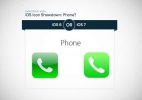 Encuesta sobre los iconos de iOS 7