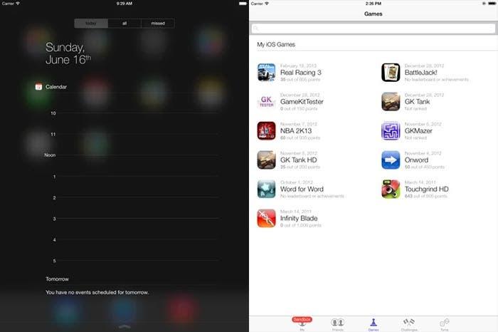 Centro de notificaciones y App Store