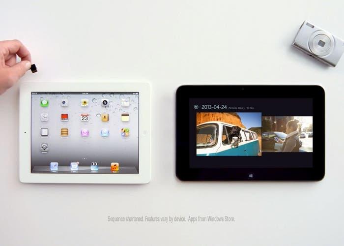 Nuevo anuncio de Microsoft en el que se ridiculiza el tablet de Apple