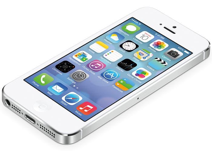 Iconos iOS 7 en iPhone 5