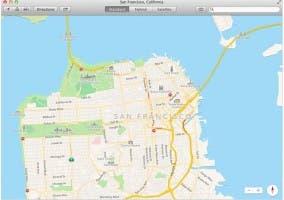 Nueva aplicación de Mapas en OS X Mavericks