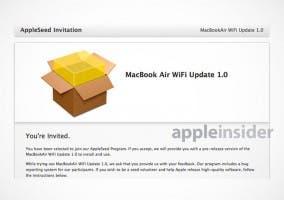 Actualización para los MacBook Air con problemas de Wi-Fi