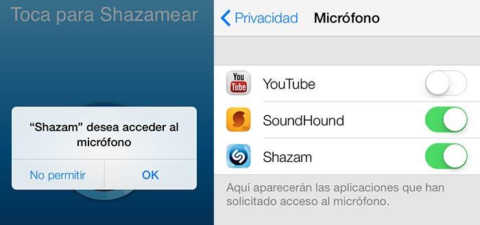 Opciones de configuración de la privavidad en iOS 7