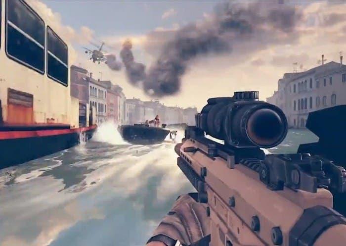 Gameloft presenta Modern Combat 5