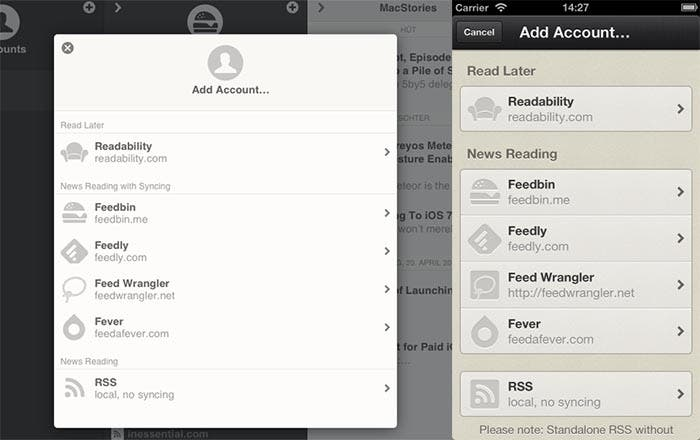 Nuevo Reeder para iPhone y iPad