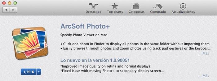 Photo+ en la App Store