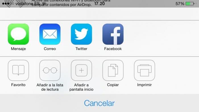 Steve Jobs gafas en iOS 7