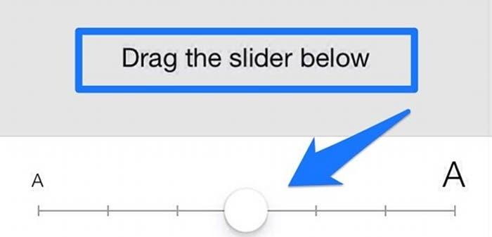 Tamaño de texto dinámico en iOS 7