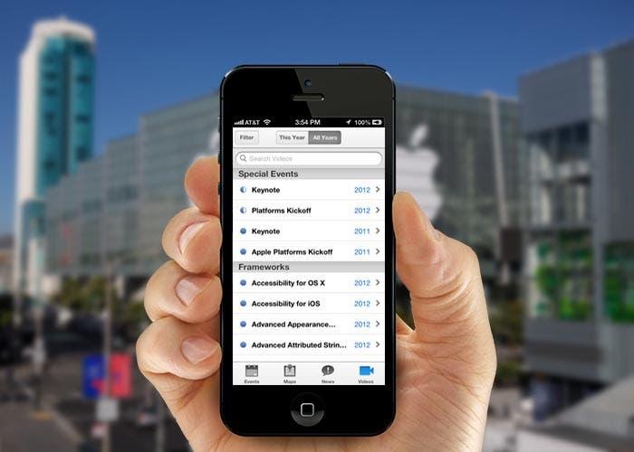 Apple lanza aplicacion de WWDC
