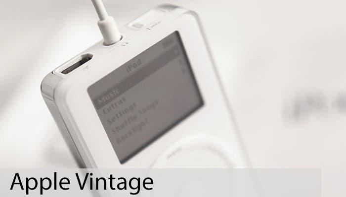 Apple Vintage: iPod de primera generación