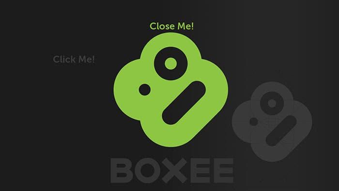 Logotipo de Boxee
