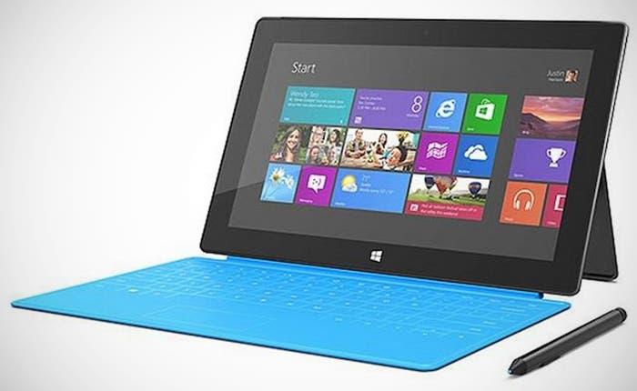 Fotografía de Microsoft Surface