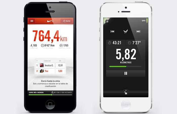 Captura de Nike+