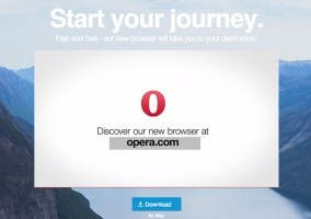 Nuevo Opera para OS X