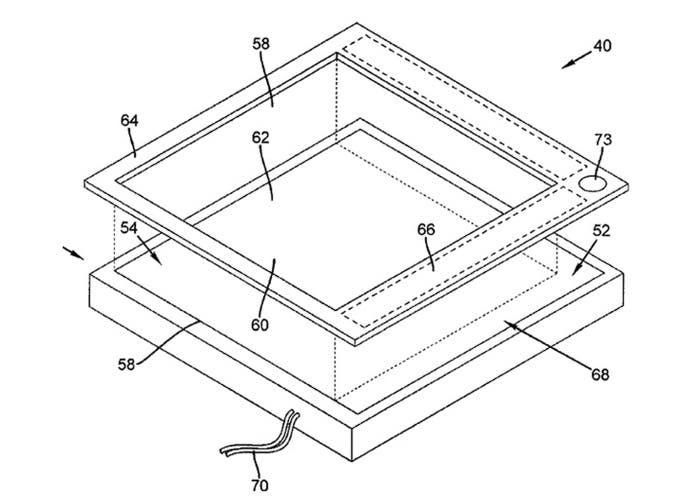 Apple patenta un marco inteligente para dispositivos táctiles