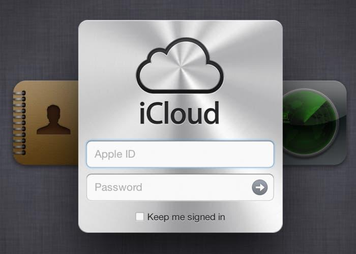 Acceder a nuestra cuenta de iCloud