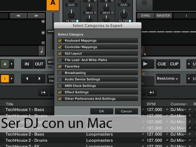 Ser DJ con un Mac: migrar los datos de Traktor a un nuevo ordenador