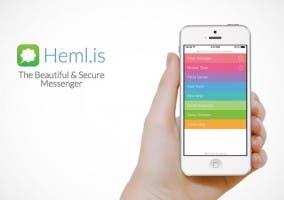 Cliente de mensajería Heml.is
