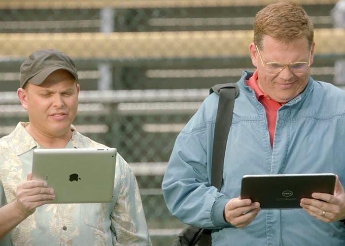El iPad contra una tablet Microsoft