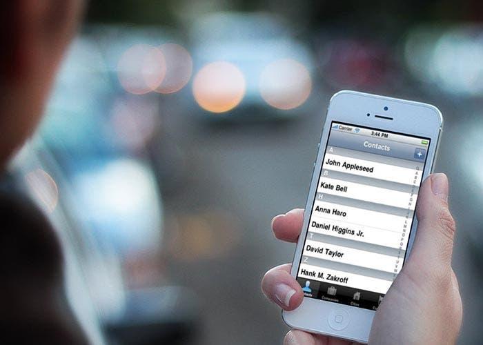 Los contactos en el iPhone
