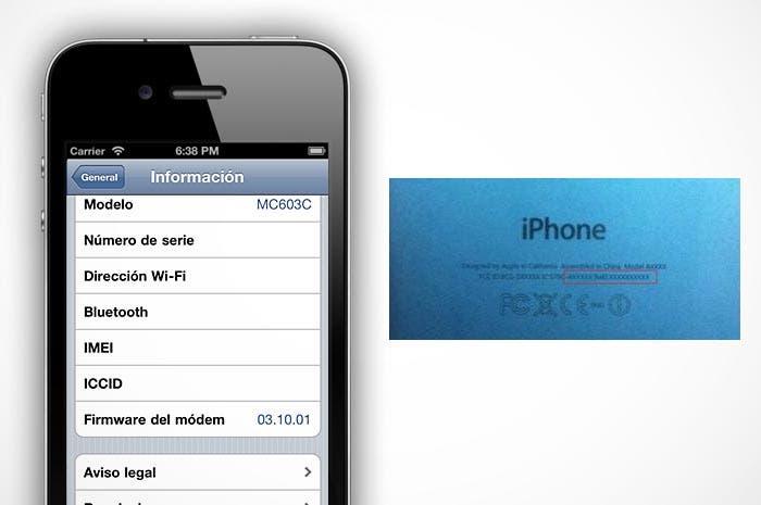 El IMEI en el iPhone