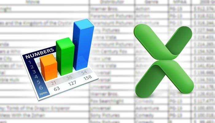 Numbers vs Excel: cara a cara