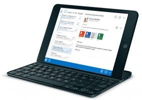 Outlook Web App en un iPad mini