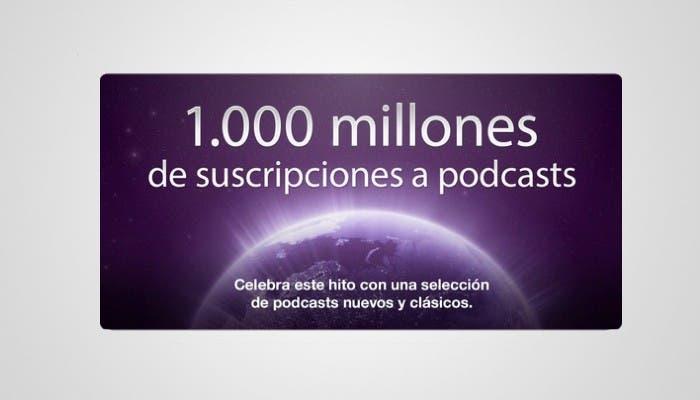 Podcast alcanza los 1000 millones de suscriptores