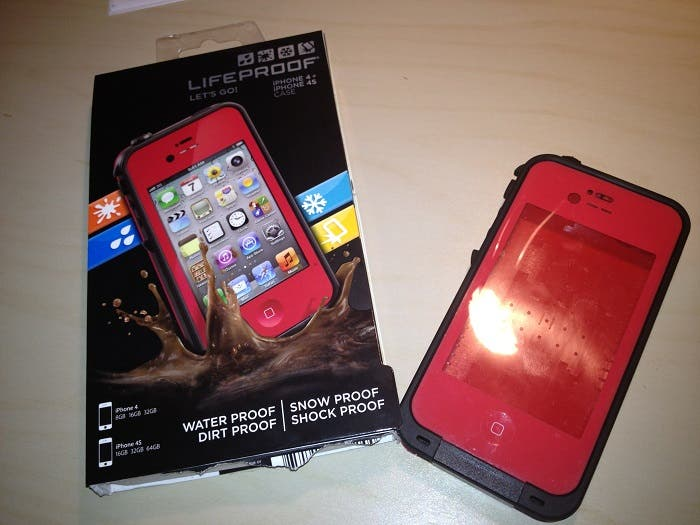 Unboxing de Lifeproof