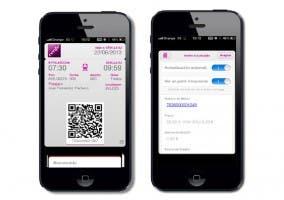 Billetes de Renfe en Passbook