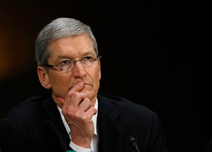 Retrato de Tim Cook