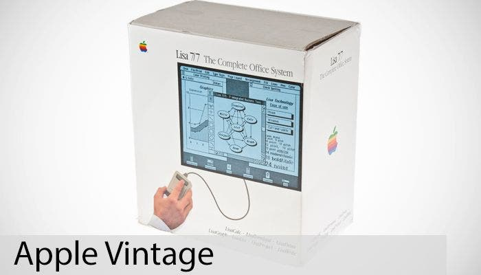 Apple Vintage: Lisa 7/7 Office